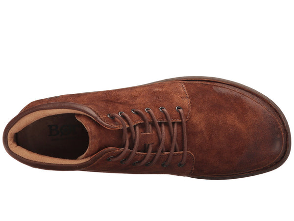 Born Men's Nigel Chukka Boot-Rust-Brown