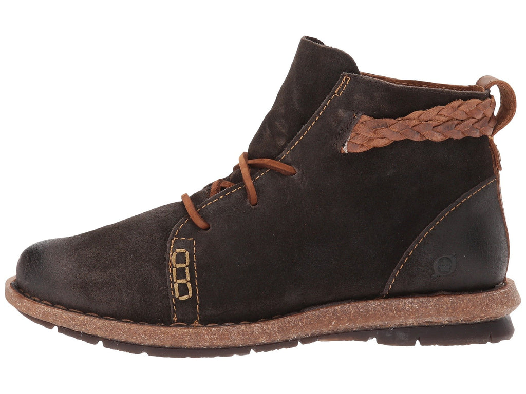 0a1ee9bf0 Born Womens Temple Ankle Boot-Dark Grey – Bennett's Clothing