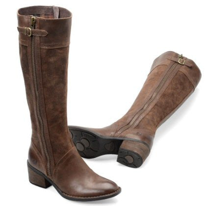 Born Womens Poly Riding Boot-Brown - Bennett's Clothing - 1
