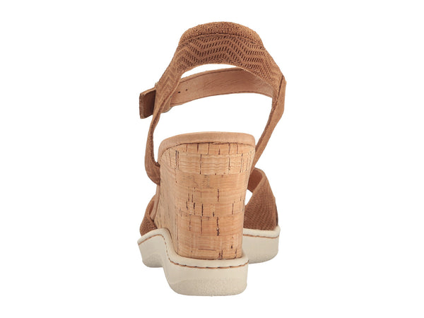 Born Womens Puno Sandal-Brown Suede