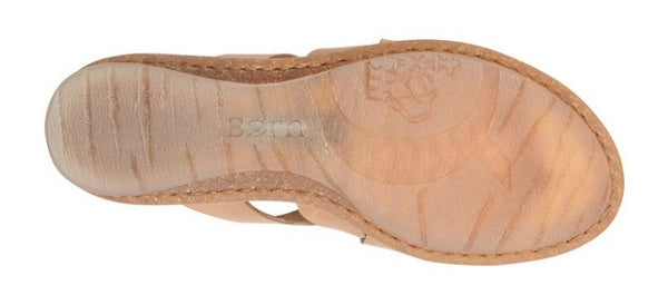 Born Womens Tepati Sandal-Natural