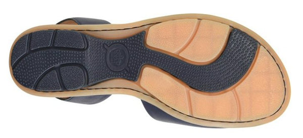 Born Womens Trang Sandal-Navy
