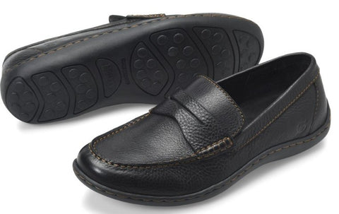 Born Simon II slip-on loafer for me is a easy way to add class to any outfit. Shop Bennett's Clothing for a large selection of Born shoes shipped same day for over 44 years.