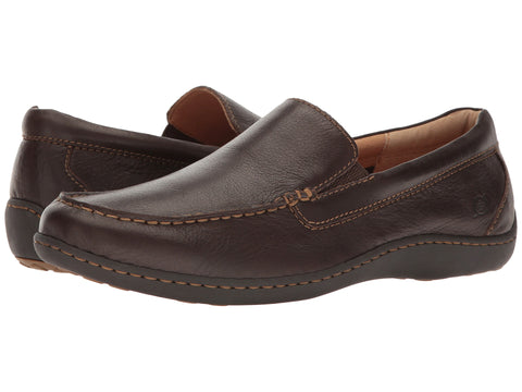 Mens Born Brompton Slip-on Shoe -Shop Bennetts Clothing for a large selection of mens and womens Born Footwear