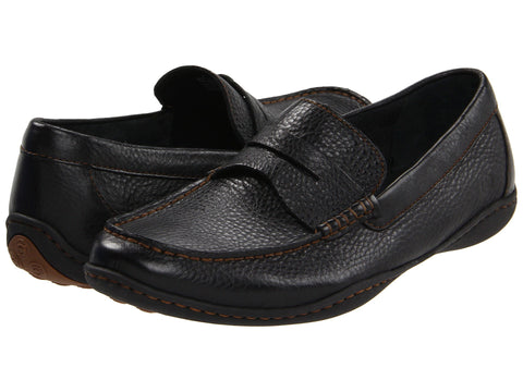 Born Men's Simon Slip-on Loafer-Black - Bennett's Clothing - 1