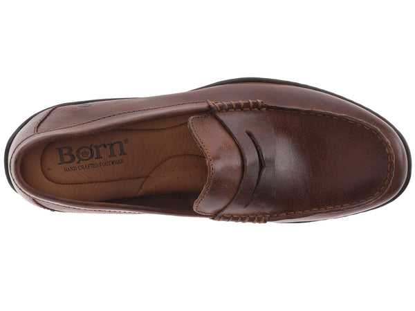 Born Men's Simon Slip-on Loafer-Cymbal Tan - Bennett's Clothing - 6