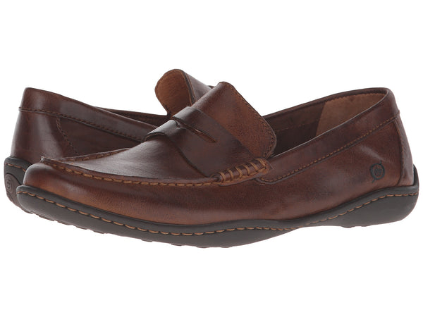 Born Men's Simon Slip-on Loafer-Cymbal Tan - Bennett's Clothing - 1