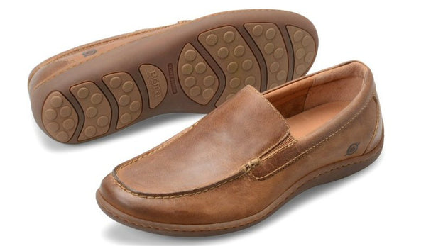 Born Men's Brompton Loafer-Natural