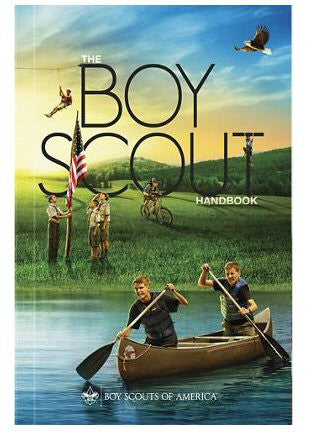 Boy Scout Handbook 13th Edition–Perfect Bound - Bennett's Clothing