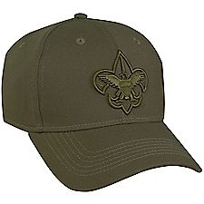 Boy Scouts Official Uniform Hat-Green - Bennett's Clothing
