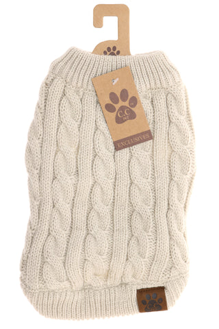 CC Beanie dog sweaters will keep your fur baby warm and in-style this season -Shop Bennetts Clothing for the brands you want and love