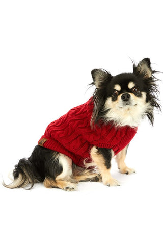 CC Beanie Dog Sweater will keep your four legged pet cozy this season -Shop Bennetts Clothing for the brands you want and love