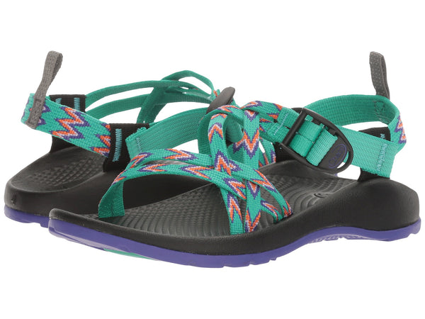 Chaco ZX/1 EcoTread Kids Sandal means happy times outdoors and their first Z tan. Shop Bennetts Clothing for outdoor sandals to fit the whole family.