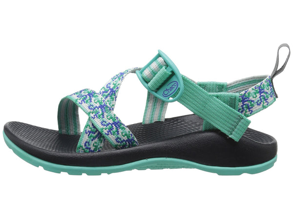 Chaco Z1 Ecotread Sandal (Toddler/Little Kid/Big Kid)-Medusa Aqua - Bennett's Clothing - 2