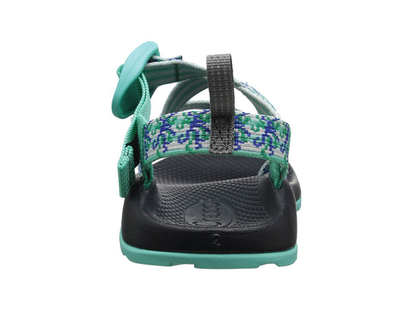 Chaco Z1 Ecotread Sandal (Toddler/Little Kid/Big Kid)-Medusa Aqua - Bennett's Clothing - 3