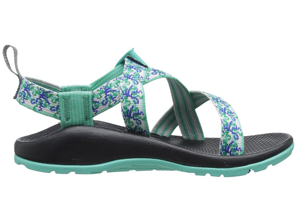 Chaco Z1 Ecotread Sandal (Toddler/Little Kid/Big Kid)-Medusa Aqua - Bennett's Clothing - 4