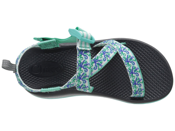 Chaco Z1 Ecotread Sandal (Toddler/Little Kid/Big Kid)-Medusa Aqua - Bennett's Clothing - 6