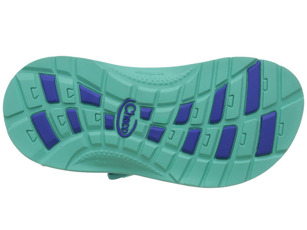 Chaco Z1 Ecotread Sandal (Toddler/Little Kid/Big Kid)-Medusa Aqua - Bennett's Clothing - 7
