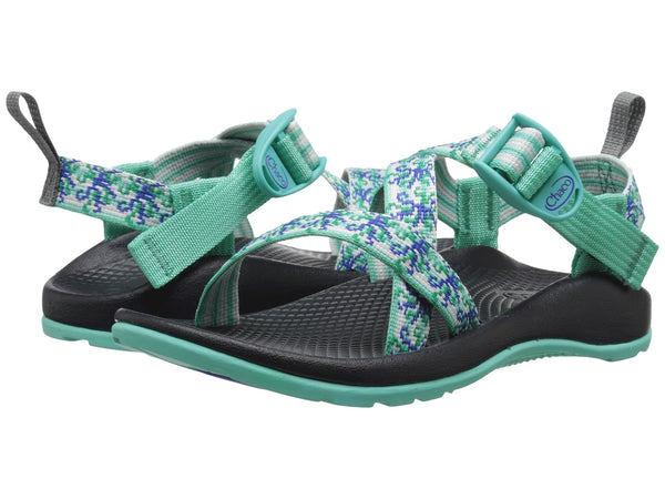 Chaco Z1 Ecotread Sandal (Toddler/Little Kid/Big Kid)-Medusa Aqua - Bennett's Clothing - 1