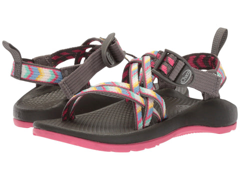 Chaco Girls ZX1 Ecotread Sandal (Toddler/Little Kid/Big Kid)-Fletched Pink