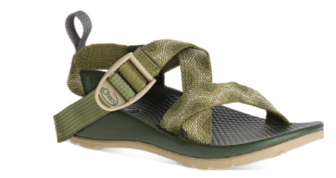 Chaco Z1 Ecotread Sandal (Toddler/Little Kid/Big Kid)-Vortex Avocado