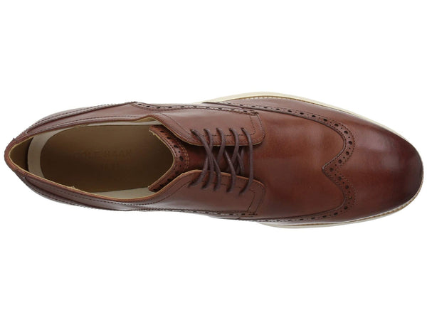 Cole Haan Original Grand Shortwing Oxford-Woodbury/Ivory