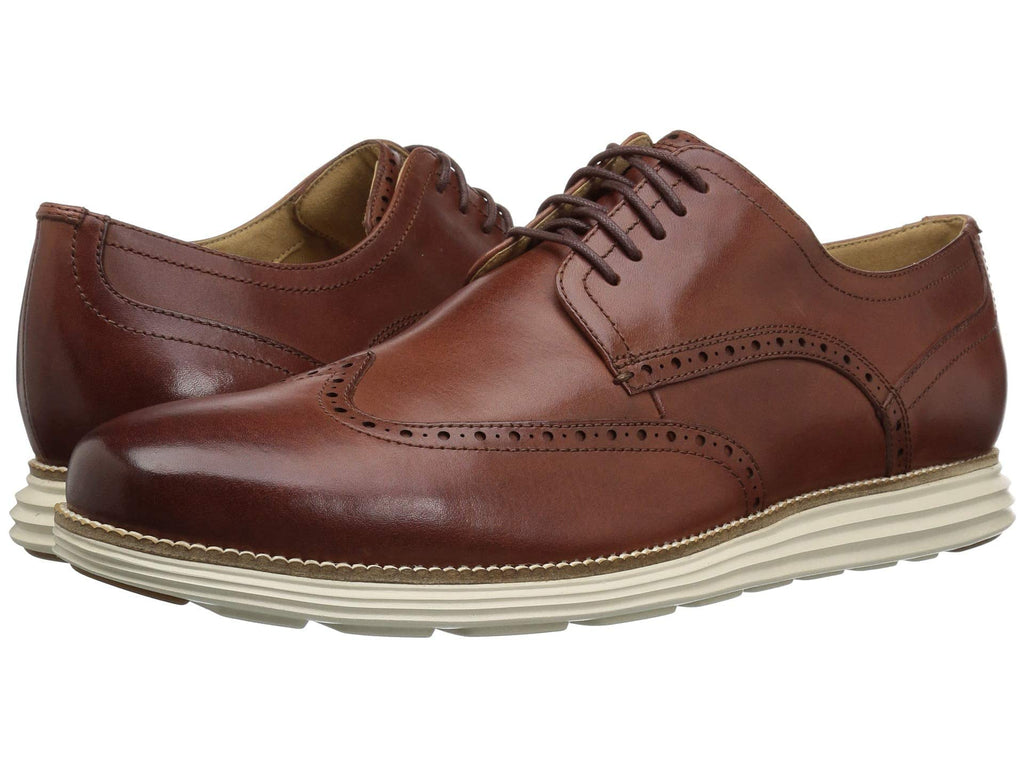 Cole Haan Original Grand Shortwing tip oxfords are lightweight and made for the sharp dressed man. Shop Bennett's Clothing for the brands you want with prices you will love.