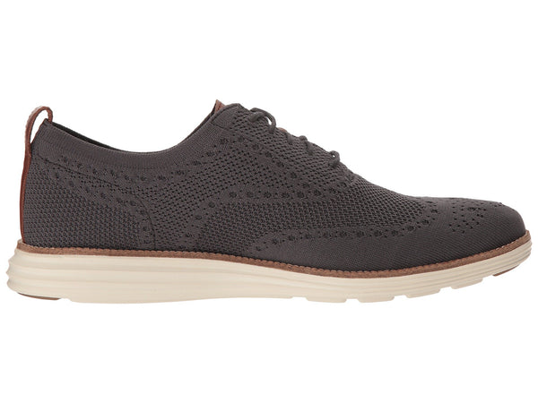 Cole Haan Grand Stitchlite Wingtip Oxford-Magnet/Ivory