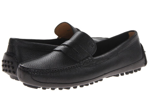 Cole Haan Grant Canoe Moc in classy black -Shop Bennetts Clothing for preppy shoes and chinos with same day shipping.