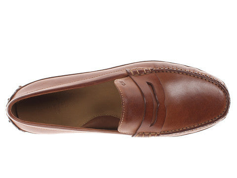 Cole Haan Men's Grant Canoe Penny-Papaya - Bennett's Clothing - 6