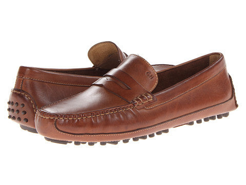 Cole Haan Men's Grant Canoe Penny-Papaya - Bennett's Clothing - 1