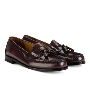 Cole Haan Men's Pinch Tassel Loafer-Mahogany - Bennett's Clothing - 1