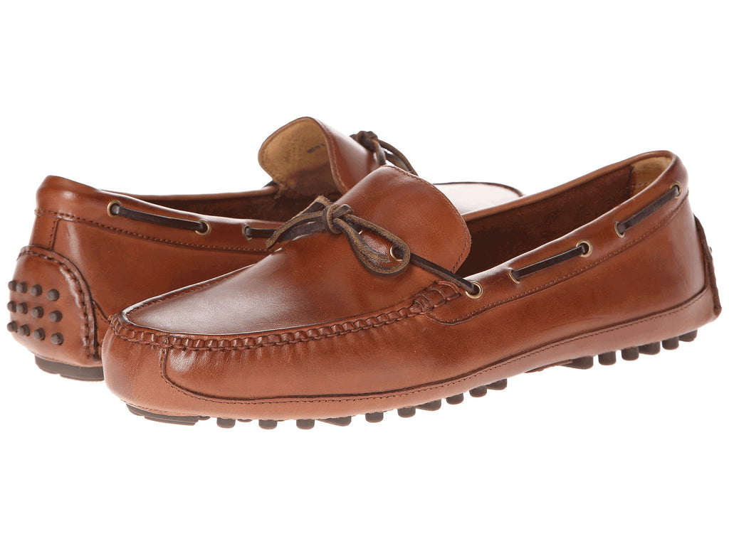 Cole Haan Grant Canoe Moc in Papaya -Shop Bennetts Clothing for preppy shoes and chinos with same day shipping.