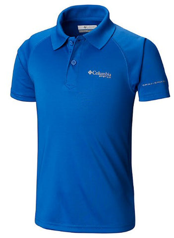 Columbia Boys PFG Terminal Tackle Polo is ready for a night out with Mom and Dad or the hitting the playground. Shop Bennett's Clothing for boys wear from the brands you love.
