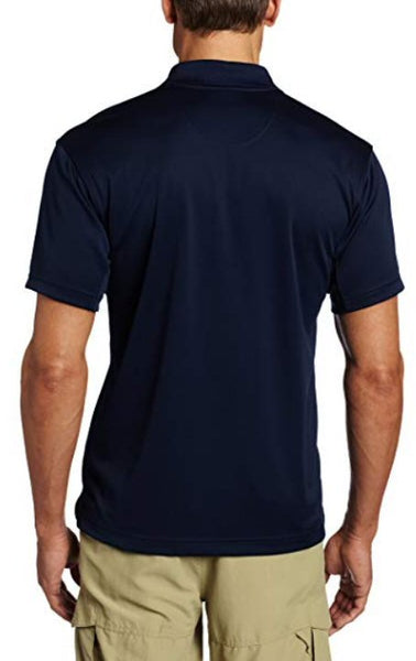 Columbia Men's Utilizer Polo Shirt-Collegiate Navy