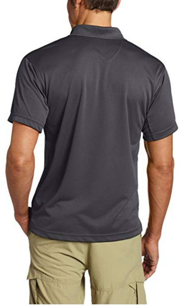 Columbia Men's Utilizer Polo Shirt-Grill