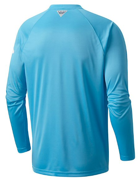 Columbia PFG Long Sleeve Terminal Tackle T-Shirt-Riptide-White
