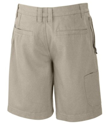 "Columbia Men's 10"" Flex ROC Short-Fossil"