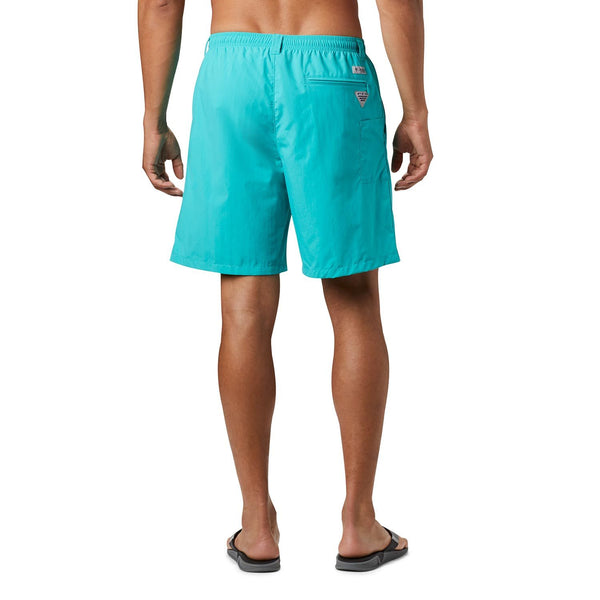 "Columbia PFG Backcast III Mens 6"" Water Short-Bright Aqua"