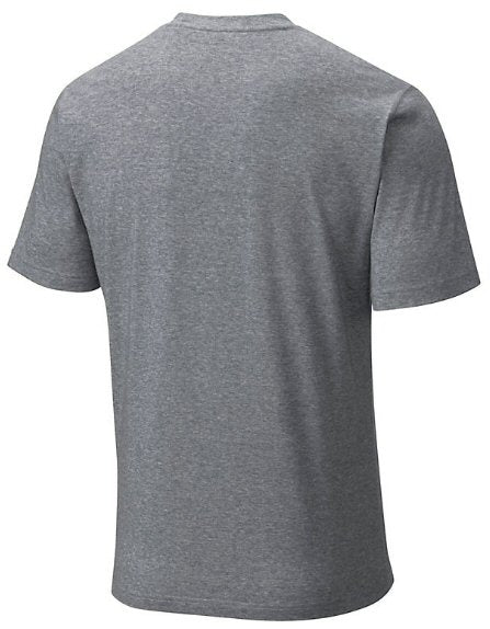 Columbia Men's Thistletown Park Wicking Crew Neck T-Shirt-Grey Ash Heather