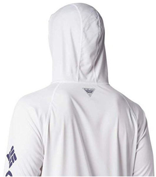Columbia PFG Terminal Tackle Hoodie-White-Nightshade