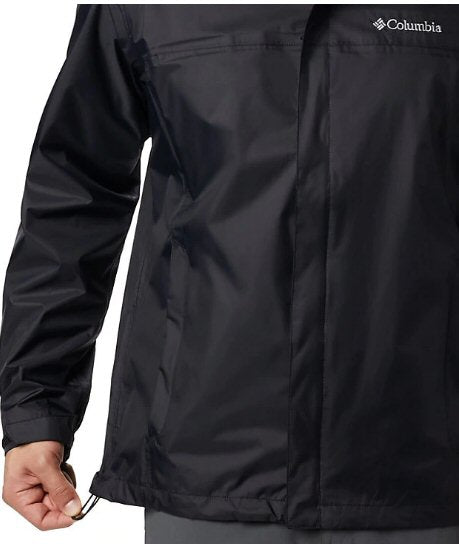 Columbia Mens Watertight II Rain Jacket-Black
