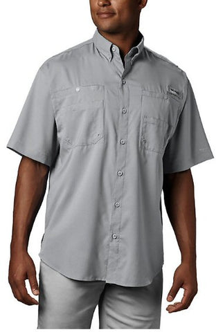 Columbia Tamiami II short sleeve PFG shirts are a must to protect yourself and stay cool when on the water or trail. Shop Bennetts Clothing for a large selection of mens outdoor shirts and shorts