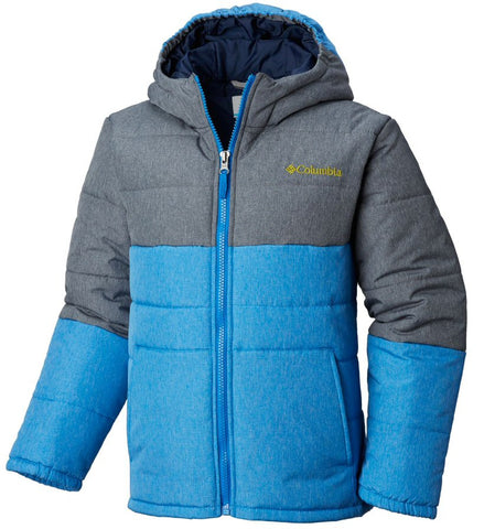 Columbia Boys Puffect Jacket-Super Blue