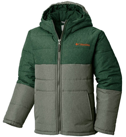 Columbia Boys Puffect Jacket-Forest-Cypress Green