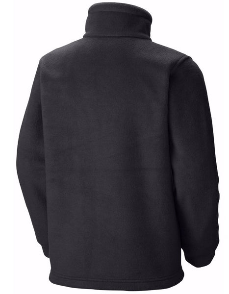 Columbia Boy's Steens Mountain II Fleece Jacket-Black