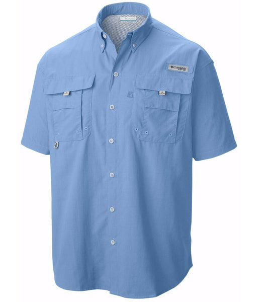 Columbia PFG Bahama II S/S Shirt-Sail Blue - Bennett's Clothing - 1