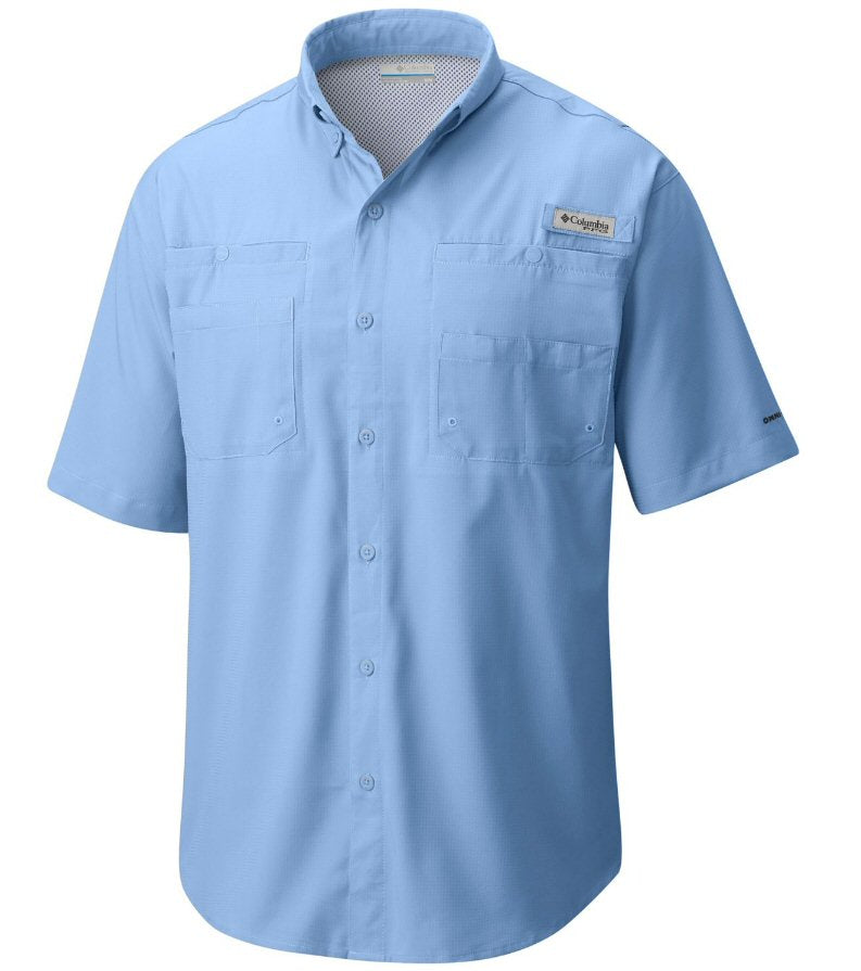 Columbia PFG Tamiami II Short Sleeve Shirt-Sail Blue