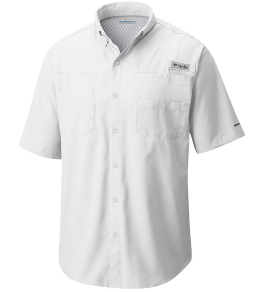 Columbia PFG Tamiami II Short Sleeve Shirt-White
