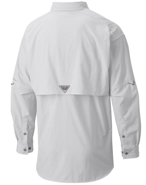 Columbia Sportswear PFG Long Sleeve Bahama II Shirt-White